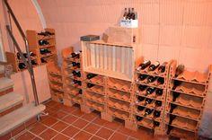 #Weinlagersteine Sixx fertig aufgebautes Regal