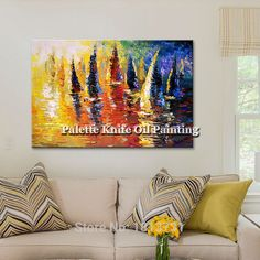 Cheap art pictures, Buy Quality picture for living room directly from China wall art picture Suppliers: Hand painted abstract oil painting boat ship sailing canvas oil paintings Wall art Pictures for living room modern wallpaper 3 Enjoy ✓Free Shipping Worldwide! ✓Limited Time Sale✓Easy Return. Living Room Pictures, Wall Art Pictures, Cheap Paintings, Oil Paintings, China Wall, Cheap Art, Modern Wallpaper, 3 Arts, Oil Painting Abstract