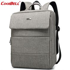 36.00$  Buy here - http://aliepl.shopchina.info/go.php?t=32596911466 - CoolBell Brand Men Women Laptop Backpack 15.6 inch Waterproof Notebook Computer Bag 2016 Spring New School Bags for Boys Girls 36.00$ #magazineonlinewebsite