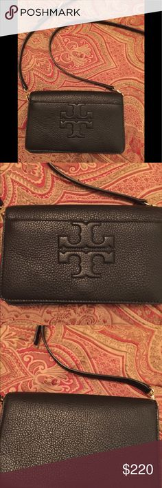 Tory Burch purse!  Gorgeous! Black Tory Burch Harper crossbody. Gorgeous! NWOT Tory Burch Bags Crossbody Bags