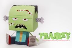 FRANKEY – A LITTLE MONSTER COME INHALLOWEEN