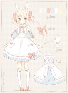 [CLOSED] ADOPTABLE | Pastel Bunny by ocono on DeviantArt