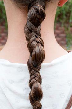 French Wrap ponytail
