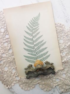 Vintage Hardware. Art Nouveau Drawer Pulls French Provincial Handles Gold Painted Ornamental Cast Metal Lucite.