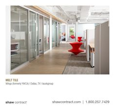 Wings (formerly YWCA) | Dallas, TX | lauckgroup - Melt tile