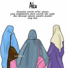 Kumpulan Contoh Gambar Sketsa Wanita Muslimah Bercadar Informasi