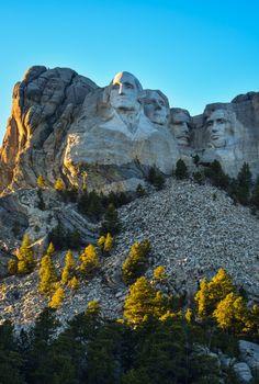 South Dakota (Mount Rushmore National Memorial). US.-