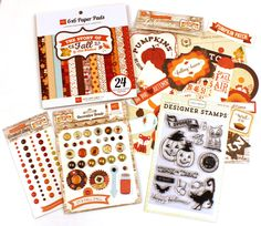 Today's Peachy Cheap deal is an Echo Park Fall Kit. This kit has 5 items in it, a 6×6 paper pad with 24 double sided papers, Stamps, Brads, Dots and Ephemera. ONLY $12.99 for 24hrs or until gone!