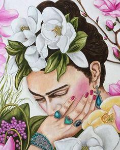 Frida Kahlo Art Pint Frida Mexican Art Mexican Home Decor Mexican Home Decor, Mexican Art, Art Floral, Canvas Art Prints, Fine Art Prints, Fridah Kahlo, Frida Kahlo Portraits, Kahlo Paintings, Frida And Diego