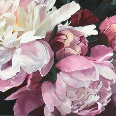 ADELE   Jenny Fusca Paintings   Sydney Artist   art, flowers ...
