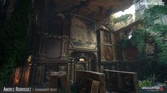 The Art of Uncharted 4: 100 Concept Art Collection - Daily Art, Games