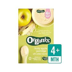 Organix Fruity Apple Stage 1 Cereal 120g - Pack of 6