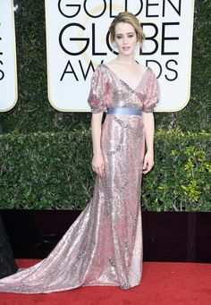 Wearing a sparkling Erdem gown with Fred Leighton jewels and Nicholas Kirkwood shoes.              Image So...