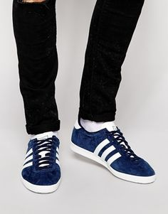 cheaper bc78c f2bbe adidas Originals Gazelle OG Sneakers Grey Trainers, Mens Trainers, Adidas  Gazelle Mens, Mocassin