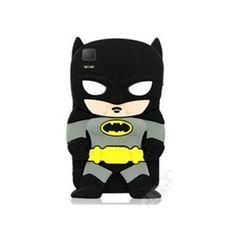 Carcasa BQ Aquaris E5 Batman diseño muñeco 3D