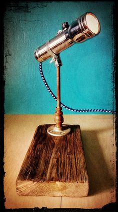 Upcycled Reclaimed Wood Vintage Eveready by RetroSteamWorks, $69.95