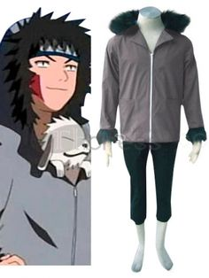 Make you the same as Kiba Inuzuka in this Naruto cosplay costume for cosplay show. See More Naruto Cosplay at www. Naruto Cosplay Costumes, Cosplay Outfits, Adidas Jacket, Bomber Jacket, Team 8, Allen Walker, Costumes For Sale, Cute Cosplay, Mascot Costumes