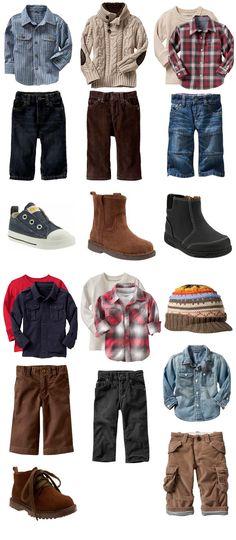 Kids fall/winter wear