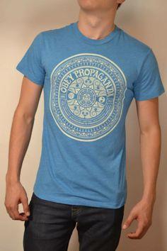"""Camisa azul marca OBEY """"OBEY PROPAGANDA"""""""