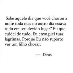 """178 curtidas, 11 comentários - Porta pra vida❤ (@portapravida) no Instagram: """"Deus cuida ❤"""""""