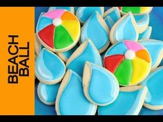 Pool Party Cookies  http://www.youtube.com/watch?v=pS2TpEWRGm0