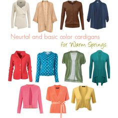 Neutral and basic color cardigans for Warm Springs by thirtysomethingurbangirl on Polyvore featuring polyvore, moda, style, M&Co, Soaked in Luxury, Nice Things by Paloma S, Damsel in a Dress, Comme des Garçons GIRL, MaxMara and Splendid