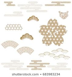 Find Japanese Background Vector Gold Geometric Traditional stock images in HD and millions of other royalty-free stock photos, illustrations and vectors in the Shutterstock collection. Japanese Icon, Japanese New Year, Japanese Art, Japanese Textiles, Japanese Patterns, Japanese Fabric, Japanese Background, Textured Background, New Year Card Design