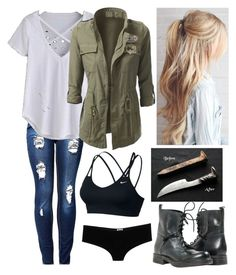 """Untitled #169"" by ravenouswild on Polyvore featuring NIKE and D&G"