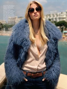 The Name Of The Game with Lara Stone for UK Vogue Oct 2011