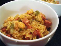 Spicy Jumbalaya | my kitchen addiction