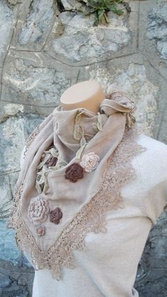 Very Trendy Beige ShawlThe Latest FashionBest Gift by voguescarf, $28.00