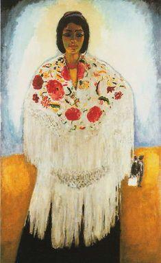 Andalucia  by Kees Van Dongen (Dutch 1877-1968)
