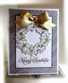 Me, My Stamps and I: wonderous wreath