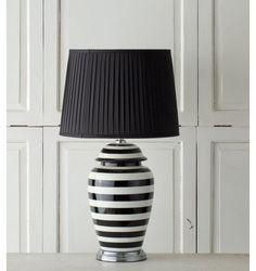 Dekoria, Lampa stołowa Chika ceramiczna 72cm