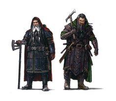 Character Portraits (noanmanji: Dwarf Warriors !!!!)