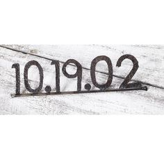 Great Wedding Gift! Personalized Date Eco Friendly Custom Word Sign by TheSteelFork