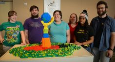 2014 Create a Masterpiece – Intercollegiate Lego® Competition – Mott Community College