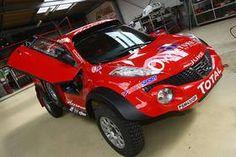 Nissan Juke enduro-rally.