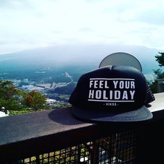 "EXCLUSIVE HIKSS TRUCKER HAT ""FEEL YOUR HOLIDAY"" .  Idr. 110k 