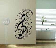 music virus wall wall decor,Vinyl wall stickers home decor Wall Art Decals Free Shipping $6.50