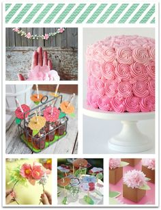 Flower Party Theme Inspiration