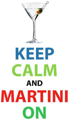 Keep Clam and Martini On