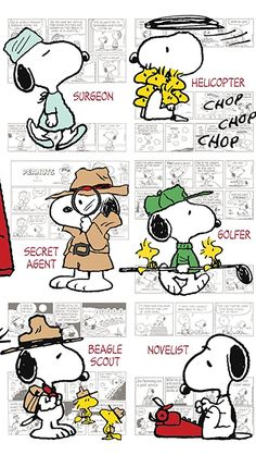 Snoopy profession