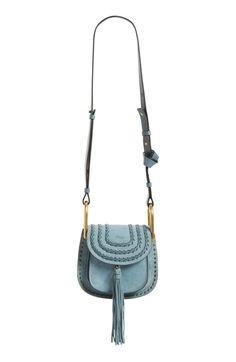 Chloé 'Mini Hudson' Crossbody Bag available at #Nordstrom - BLACK