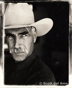 Just threw this one in to see if you were paying attention.  I love Sam Elliott.  I would marry him (if I wasn't already married and he wasn't already married)....LOL