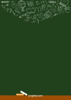 The Background Of Green Blackboard Book Pattern Chalk Fonts, Blackboard Chalk, Book Background, Background Images, Cartoon Background, Background Templates, Background Patterns, Frame Floral, Floral Card
