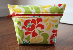 make-up pouch sewing tutorial