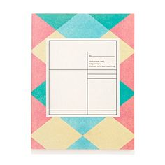 O-Check for Top Hat Medium Pattern Notebook