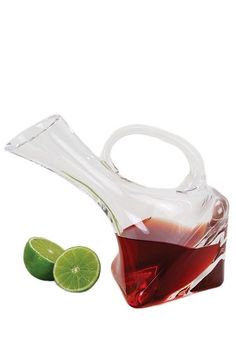 24 oz. Althea Leaning Square Carafe - Clear