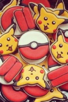 Pokemon Cookies!